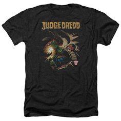 Judge Dredd: Blast Away Heather T-Shirt
