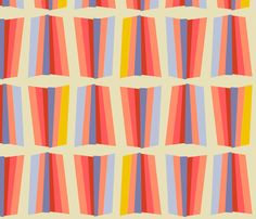 ray (berry) fabric by anna_lisa_brown on Spoonflower - custom fabric