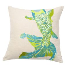I pinned this Baby Fish Pillow from the Design Report event at Joss & Main!