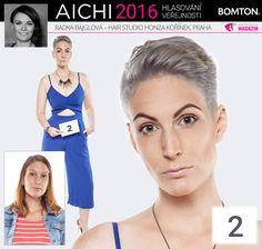 Finále AICHI 2016: Radka Bajglová - Hair studio Honza Kořínek, Praha Aichi, Hair Studio, Movie Posters, Film Poster, Popcorn Posters, Film Posters, Posters