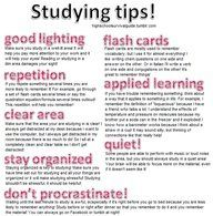 Eight study tips to keep you focused! #StudyTips