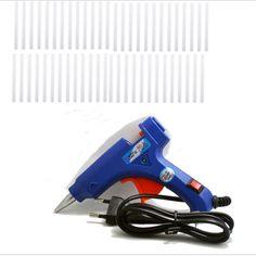 Handy Professional High Temp Heater 20W Hot Glue Gun Repair Heat tool with  50pcs Hot Melt Glue Sticks