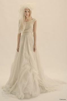 cortana #bridal isis top tutu skirt #weddings #weddingdress  http://weddinginspirasi.com/2013/12/04/cortana-wedding-dresses/