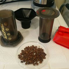 Giving the light roast a try in the aeropress. #geenieto #ritualcoffee #aeropress #specialtycoffee #pourovercoffee # http://ift.tt/1Vbg53z