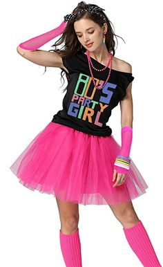 Expert advice on throwing an party, including invites, how to dress, decorations and entertainment. Best 80s Costumes, Girl Costumes, Costumes For Women, 80s Theme Party Outfits, Themed Outfits, 80s Dress, Jumpsuit Dress, 80s Fashion Party, Fashion Goth