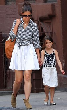 Katie Holmes and Suri have the same stylist