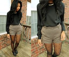 I die .....LOVE LOVE LOVE this outfit and GAHHH the tights <3