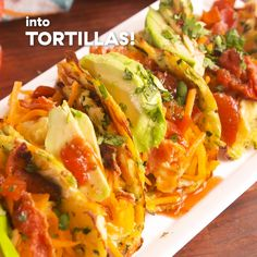 Taco Shells Turn zucchini into taco shells for your next low-carb taco night. Get the recipe at .Turn zucchini into taco shells for your next low-carb taco night. Get the recipe at . Healthy Dinner Recipes, Mexican Food Recipes, Healthy Zucchini Recipes, Easy Recipes, Zuchinni Recipes, Zucchini Noodle Recipes, Scd Recipes, Low Carb Vegetarian Recipes, Oven Recipes