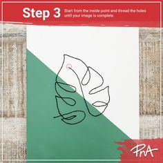 🧶 You can basically do anything on a canvas including stitching! 🍃 You can stitch anything your heart desires, but here's a quick how-to with a free downloadable leaf template. Leaf Template, Templates, Your Image, Stitching, Canvas, Heart, Projects, Free, Costura