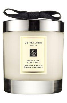 Love! Jo Malone wood sage & sea salt scented candle.