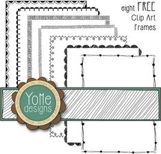 frames and borders Eight designs in black. These designs have a transparent background and are in PNG format. You may use the frames for personal or commercial use on Teachers Pay Te Free Frames And Borders, Page Borders Free, Page Borders Design, Free Clipart Borders, Borders For Paper, Will Turner, Teacher Page, Doodle Frames, Doodle Borders