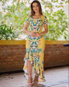 Acompanhe no artigo fotos de vestidos longos e saiba o que está em alta na moda! #moda #look #vestido #vestidolongo #dicas Elegant Dresses, Beautiful Dresses, Casual Dresses, Summer Dresses, Kohls Dresses, Dresses Dresses, Modest Fashion, Boho Fashion, Fashion Outfits