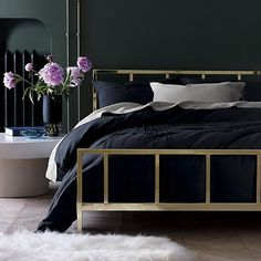 AphroChic: 10 Of The Most Enchanting Bed Frames - CB2