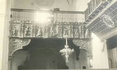 Detalle del coro,iglesia San Miguel