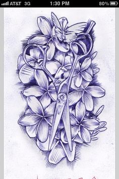 I want a tattoo like this when I graduate cosmetology school