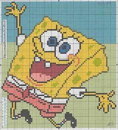 MORE CROSS STITCH: SpongeBob 6