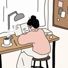 Grupo de estudio creado por Studygramer Marina Cute Art Styles, Cartoon Art Styles, Aesthetic Art, Aesthetic Anime, Kalender Design, Art Asiatique, Korean Art, Cute Doodles, Kawaii Wallpaper