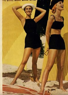 Eyes on You...A Summer Heroine  Editorial from Glamour Magazine, April 1956