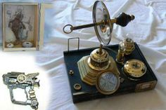 Steampunk transmogrifier - HOME SWEET HOME- Knitting, sewing, crochet, tutorials, children crafts, papercraft, jewlery, needlework, swaps, cooking and so much more on Craftster.org