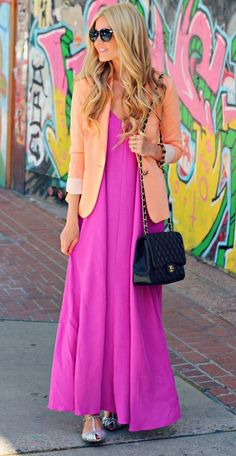 fun bright outfit