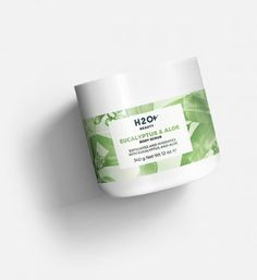 H2O+ Eucalyptus & Aloe Body Scrub   A frisky mix of gently exfoliating Sea Salts, silky Coconut Oil, Aloe extract, and revitalizing Eucalyptus that buffs away dull skin. Birthday suit up.
