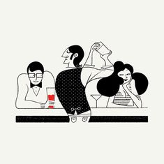 The New Yorker Love issue by Simone Massoni, via Behance