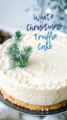 Celebrate the season with one of these easy Christmas desserts! We've got delicious recipes and ideas for the best Christmas desserts around, whether you're in the mood for cake, cookies, fudge, or something else. Holiday Desserts, Holiday Baking, Just Desserts, Delicious Desserts, White Christmas Desserts, White Desserts, Indian Desserts, Christmas Chocolate, Lemon Desserts