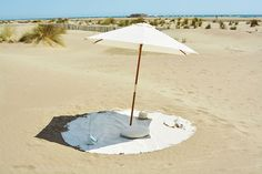 This Massive Beach Towel is a Circular Mat Made for Lounging #luxury trendhunter.com