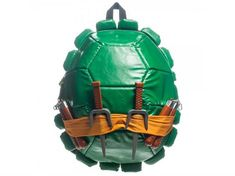 Awesome TMNT Backpack. It's all about a design that utilizes the form of the geekery it references.