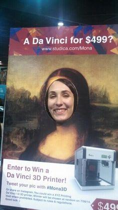 So fun. #mona3d #ISTE2014