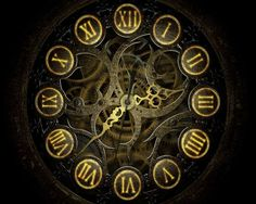 steampunk clocks #steampunk