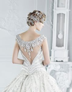 Michael Cinco Bridal Gowns 2012