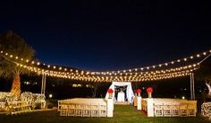 50 Socket Outdoor Commercial String Light Set, Clear Globe Bulbs, 54 FT Black Cord w/ Base, Weatherproof - All For Light İdeas Overhead Lighting, Event Lighting, Outdoor Lighting, Lighting Ideas, Wedding Lighting, Wedding Meaning, Paper Lantern Store, Patio String Lights, Romantic Evening