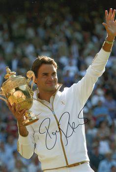 La foto que todos queremos tener enmarcada y en casa grande Roger!