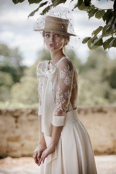 Wedding dress Victoire Vermeulen  Shooting Félicia Sisco