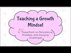 Teaching a Growth Mindset- Interactive PowerPoint