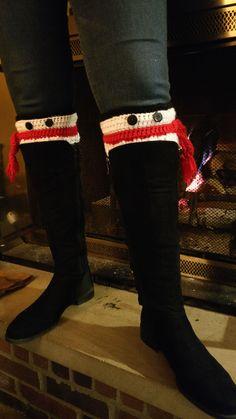 Snowman Boot Cuffs