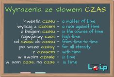 "Sprawdź, czy poprawnie stosujesz omawiane wyrażenia z rzeczownikiem ""czas"". Angielski z LOIP. Free English Lessons, English Help, Learn English For Free, English Speaking Skills, English Writing Skills, English Reading, Education English, English Grammar Exercises, English Grammar Tenses"