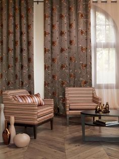 Carnivale Collection from Fabricut. What great colors. Mid century modern with an updated twist!