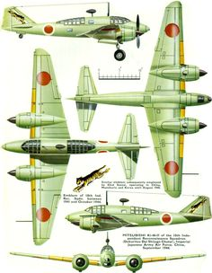 Mitsubishi Dinah Page Ww2 Aircraft, Fighter Aircraft, Military Aircraft, Fighter Jets, Luftwaffe, Imperial Japanese Navy, Aircraft Painting, Ww2 Planes, Aviation Art