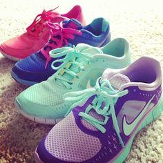 Colorful Nike Shoe Obsession