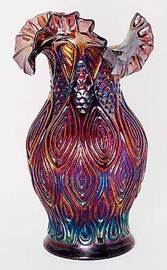 3 Miraculous Cool Tips: Vases Classic Blue And White green ceramic vases.Vases Decoration Tin Cans vases centerpieces with lights. Carnival Glass, Cool Ideas, Cut Glass, Glass Art, Motifs Art Nouveau, Art Antique, Vintage Art, Fractal, Vase Crafts