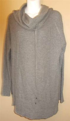 Ann Taylor Loft Soft Beautiful Cowl Neck Over Sized Sweater XL Free Shipping