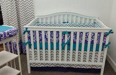 A personal favorite from my Etsy shop https://www.etsy.com/listing/205423806/crib-bedding-crib-set-baby-bedding-girl