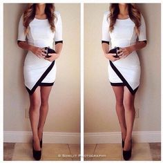 This dress is perfect for a night out!
