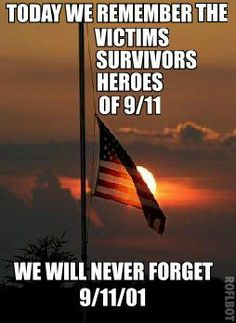We will never forget september 11 never forget quotes september 11 quotes september 11 images Never Forget Quotes, We Will Never Forget, Remembering September 11th, 11. September, Patriotic Pictures, Patriotic Quotes, We Remember, Always Remember, Colors