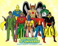 Justice Society of America 1940 by BoybluesDCU.deviantart.com on @DeviantArt