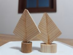 Wood Cafe, Little Christmas Trees, Place Cards, Place Card Holders, Home Decor, Decoration Home, Room Decor, Home Interior Design, Home Decoration