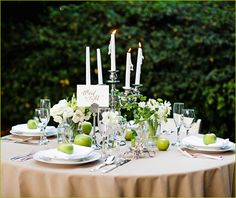 Twilight Inspired Wedding Part 1: Tablescape