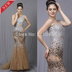 Cheap Prom Dresses, Buy Directly from China Suppliers: Add to cart now, buy on 2014-08-19(GMT-7) at 50% off!                                               2014 Choiyes New Bling Luxury Beading Sexy Slim Mermaid One-shoulder Pag